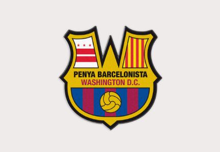 ESCUDO PENYA BARCELONISTA WASHINGTON D.C.